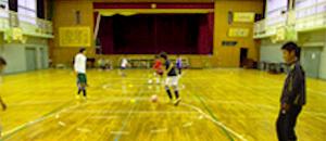 貝塚市立南小学校体育館